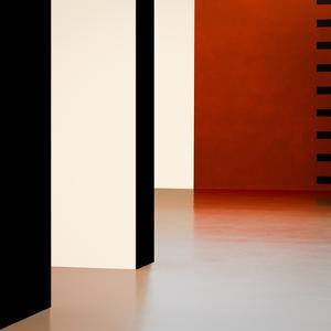 Colored Walls by Inge Schuster