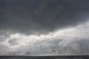 Antarctica. Bransfield Strait. Stormy Skies by Inger Hogstrom
