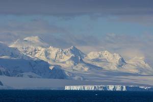 Antarctica. South of the Antarctic Circle. Near Adelaide Island by Inger Hogstrom