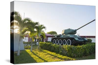 Cuba. Matanzas. Playa Giron. Tank Used in the Bay of Pigs Battle