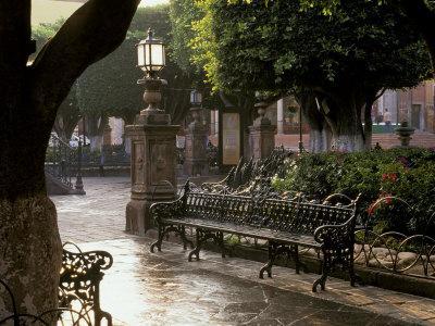 Early Morning, El Jardin, San Miguel de Allende, Mexico