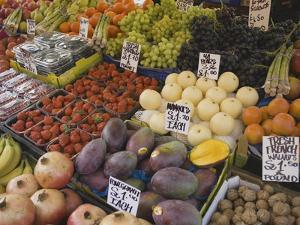 Market Stalls, Portobello Road, London, England by Inger Hogstrom