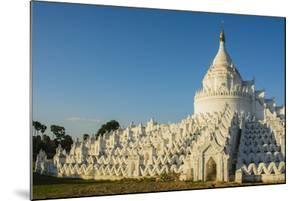 Myanmar. Mandalay. Mingun. Hsinphyumae Pagoda by Inger Hogstrom