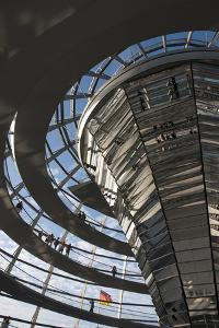 Reichstag, Berlin, Germany by Inger Hogstrom