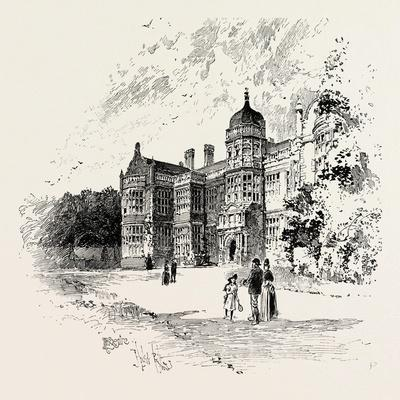 Ingestre Hall Is a 17th Century Jacobean Mansion Situated at Ingestre--Framed Giclee Print