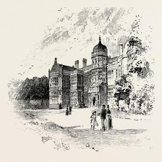 Ingestre Hall Is a 17th Century Jacobean Mansion Situated at Ingestre--Giclee Print