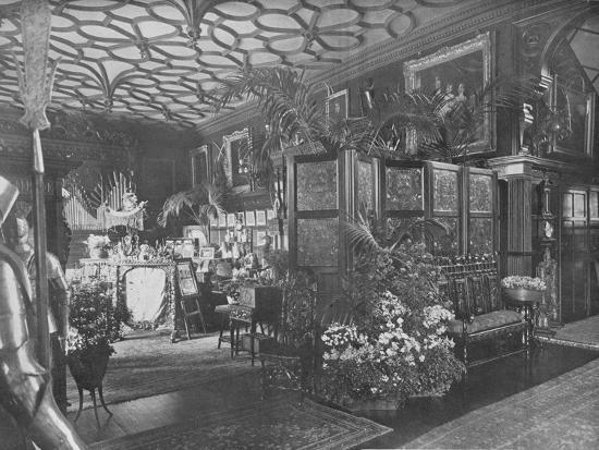 'Ingestre, Staffordshire - The Earl of Shrewsbury and Talbot', 1910-Unknown-Photographic Print