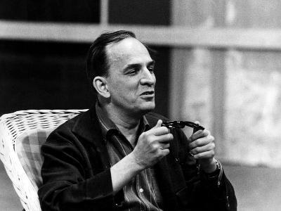 Ingmar Bergman Sitting Down--Photographic Print