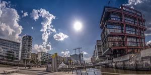 Germany, Hamburg, Hafencity, Sandtorkai, Sandtorhafen, Architecture by Ingo Boelter
