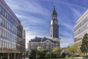 Germany, Hamburg, Neustadt, Church, St. Michaelis, Michel by Ingo Boelter