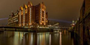 Germany, Hamburg, Speicherstadt (Warehouse District), Hafencity (District), Museum, Maritime Museum by Ingo Boelter
