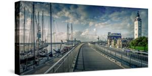 The Netherlands, Frisia, Harlingen, Harbour, Lighthouse by Ingo Boelter