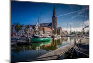 The Netherlands, Frisia, Harlingen, Harbour, Zuiderhaven by Ingo Boelter