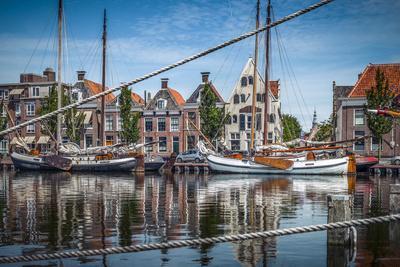 The Netherlands, Frisia, Harlingen, Harbour, Zuiderhaven