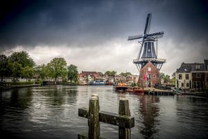 The Netherlands, Haarlem, Mill, Windmill, De Adriaan by Ingo Boelter