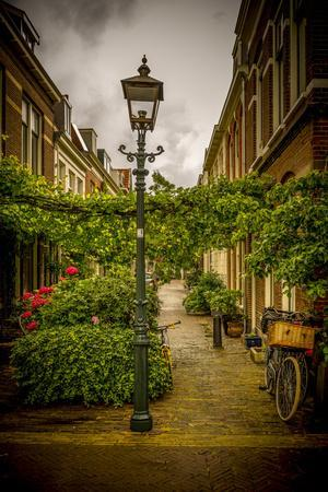 The Netherlands, Haarlem, Street, Lane