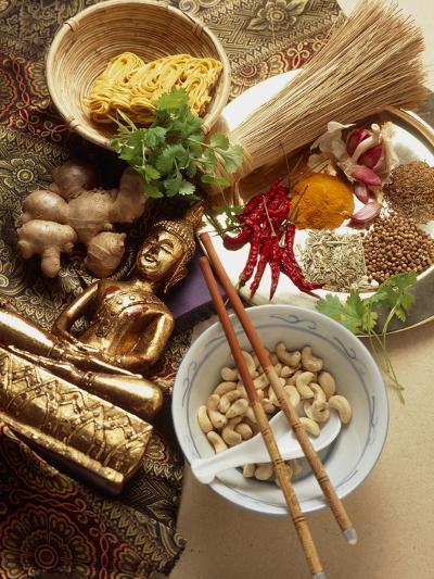 Ingredients for Cooking Thai Food-Erika Craddock-Photographic Print