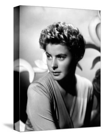 """Ingrid Bergman. """"For Whom the Bell Tolls"""" 1943, Directed by Sam Wood"""