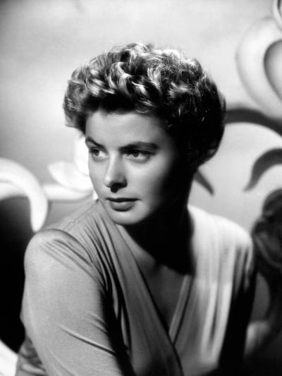 """Ingrid Bergman. """"For Whom the Bell Tolls"""" 1943, Directed by Sam Wood--Photographic Print"""