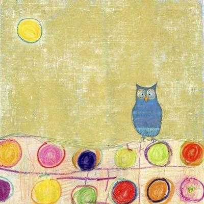 Feathers, Dots & Stripes III by Ingrid Blixt