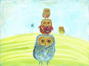 Owl Totem by Ingrid Blixt