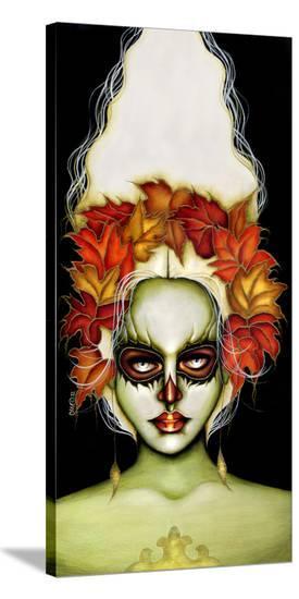 Inhale My Deceit-Cat Ashworth-Stretched Canvas Print
