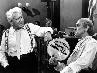 Inherit the Wind, Spencer Tracy, Fredric March, 1960--Photo