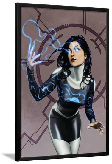 Inhumans No.9 Cover: Nahrees--Lamina Framed Poster
