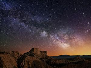 Milky Way over the Desert by Inigo Cia