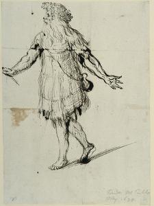 A Druid, C.1638 by Inigo Jones