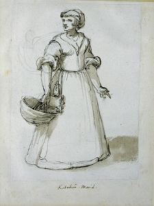 A Kitchen Maid by Inigo Jones