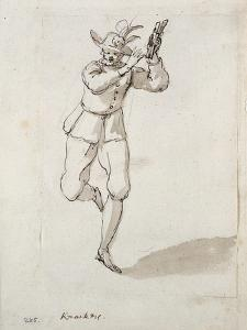 A Man with Knackers and Bells by Inigo Jones