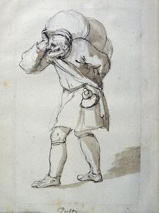 A Porter Laden by Inigo Jones