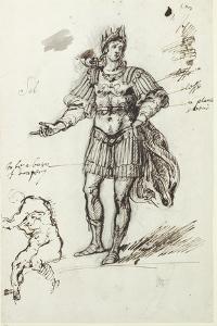 Albanactus, Preliminary Sketch by Inigo Jones