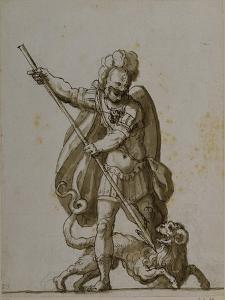 Bellerophon and the Chimaera, C.1609 by Inigo Jones