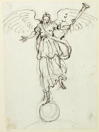 Fame, Preliminary Sketch, C.1631
