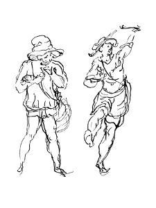 Figures Designed by Inigo Jones for the Masque, 1893 by Inigo Jones