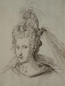 Headdress, Probably for Anne of Denmark by Inigo Jones