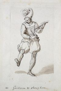 Man with Gridiron and Shoe Horn by Inigo Jones