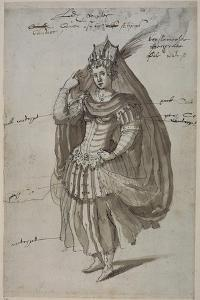 Queen Candace, C.1609 by Inigo Jones