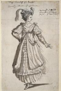 Queen Zenobia, C.1609 by Inigo Jones