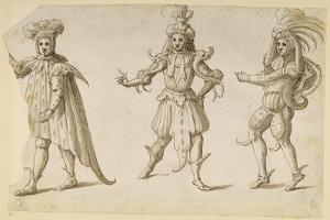 Three Fays, C.1611 by Inigo Jones