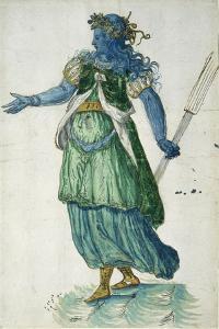 Torchbearer of Oceania, 1605 by Inigo Jones