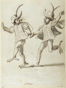 Two Lackeys by Inigo Jones