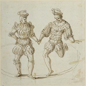 Welsh Dancers by Inigo Jones