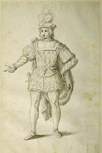 Youth in Ancient British Costume, C.1611 by Inigo Jones