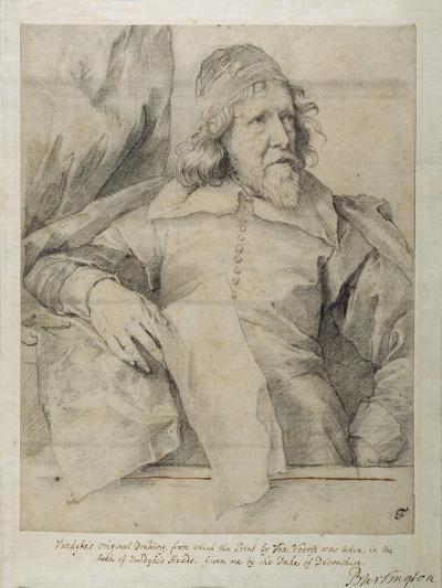Inigo Jones-Sir Anthony Van Dyck-Giclee Print