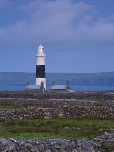 Inisheer Lighthouse, Inisheer, Aran Islands, Co, Galway, Ireland-Doug Pearson-Photographic Print