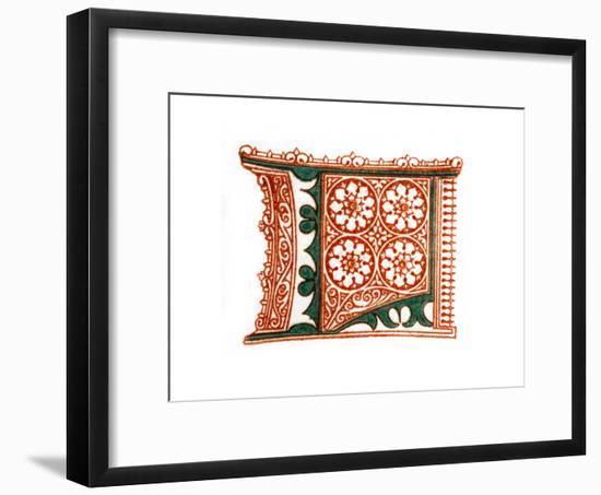 Initial Letter L-Henry Shaw-Framed Giclee Print
