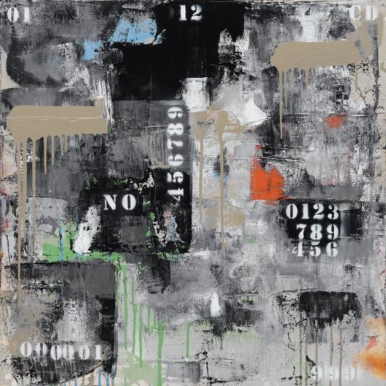 Initiales 129-Eric Trichet-Art Print